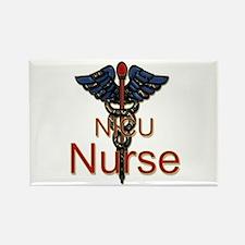 Cute Nicu nurse Rectangle Magnet