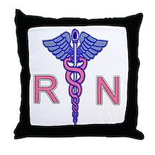 Cool Male nurse Throw Pillow