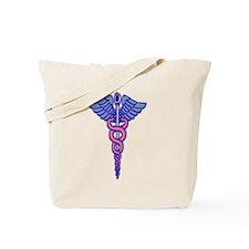 Funny Hospice nurse Tote Bag