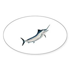 Striped Marlin (untitled) Decal
