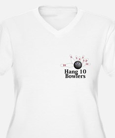 Hang 10 Bowlers Logo 6 T-Shirt