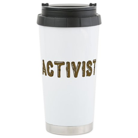 Activist Stainless Steel Travel Mug