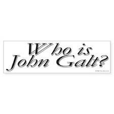 Who is John Galt Bumper Car Sticker