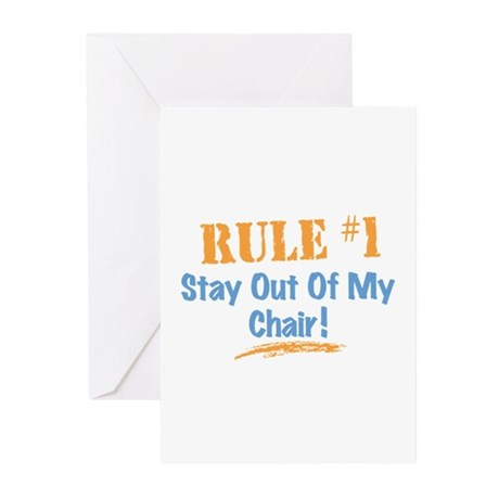 Rule #1 Chair Greeting Cards (Pk of 20)