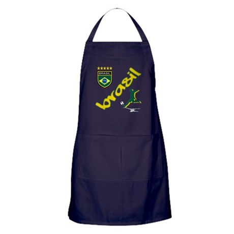 Brazilian World cup soccer Apron (dark)