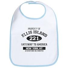 Ellis Island Bib
