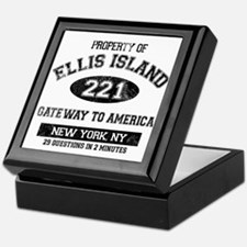 Ellis Island Keepsake Box