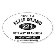 Ellis Island Decal