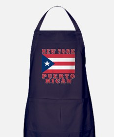 New York Puerto Rican Apron (dark)