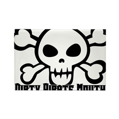 Dirty Pirate Mouth Rectangle Magnet