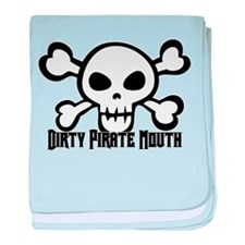 Dirty Pirate Mouth Infant Blanket