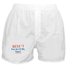 Rule #1 Closet Boxer Shorts