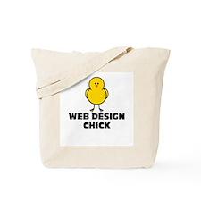 Web Design Chick Tote Bag