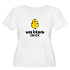 Web Design Chick T-Shirt