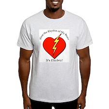 Hear the Rhythm Ash Grey T-Shirt