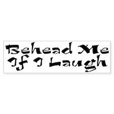 Mohammed Cartoon Bumper Bumper Sticker