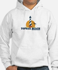 Topsail Island NC - Lighthouse Design Hoodie