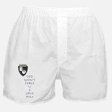 God Won't Force U Boxer Shorts
