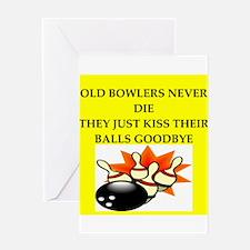 bowking joke Greeting Card