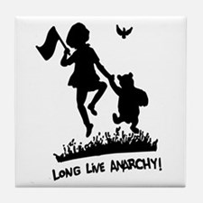 Long Live Anarchy Tile Coaster