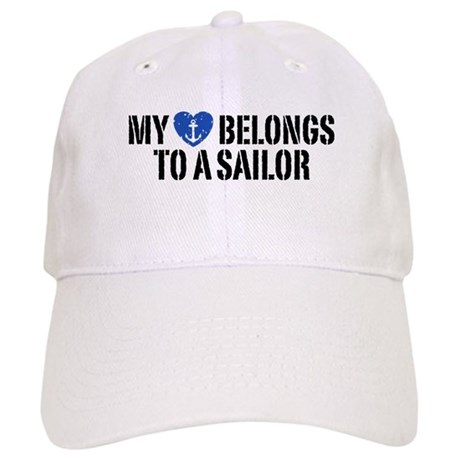 My Heart Belongs To A Sailor Cap