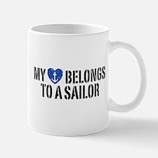 My Heart Belongs To A Sailor Mug
