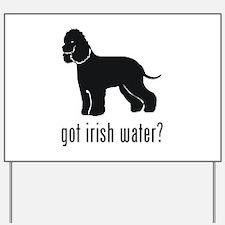 Irish Water Spaniel 1 Yard Sign