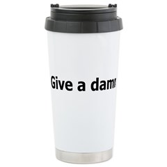 Give a damn Travel Mug