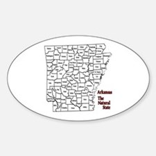 AR County Map Decal