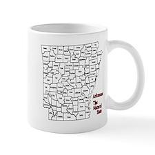 AR County Map Mug