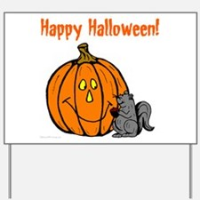 Pumpkin & Mouse Yard Sign