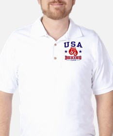 USA Boxing Golf Shirt