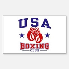 USA Boxing Sticker (Rectangle)