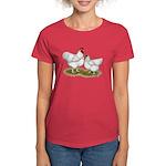 Orpington White Chickens Women's Dark T-Shirt