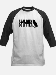 Real Men Do Litter Kids Baseball Jersey