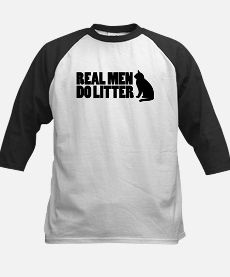 Real Men Do Litter Kids Baseball Jersey