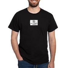 Soccer Black T-Shirt