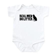 Real Men Do Litter Infant Bodysuit