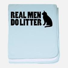 Real Men Do Litter Infant Blanket