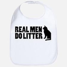 Real Men Do Litter Bib