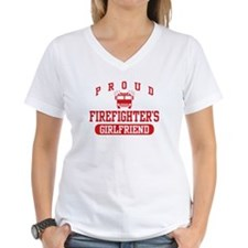 Proud Firefighter's Girlfriend Shirt