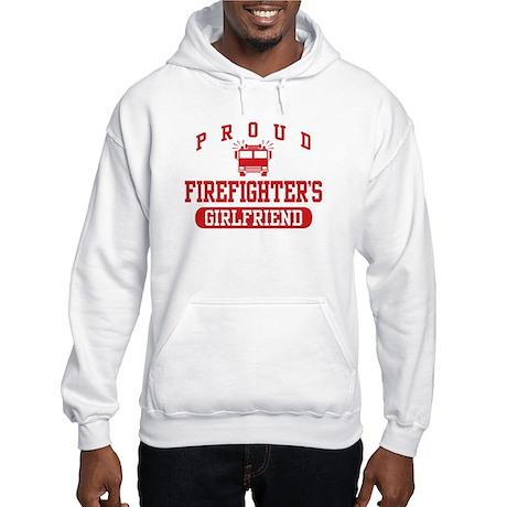 Proud Firefighter's Girlfriend Hooded Sweatshirt