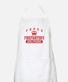Proud Firefighter's Girlfriend Apron