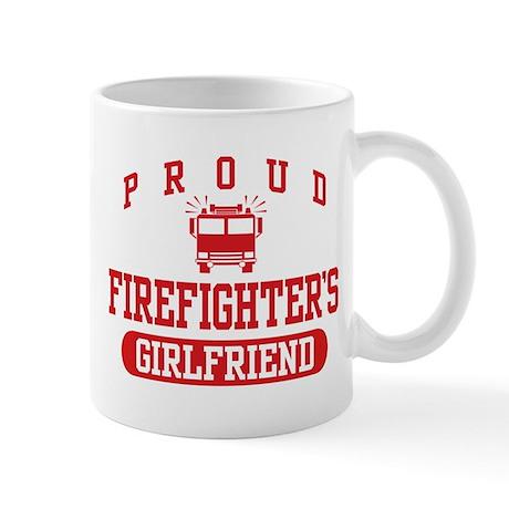 Proud Firefighter's Girlfriend Mug