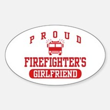Proud Firefighter's Girlfriend Decal