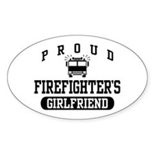 Proud Firefighter's Girlfriend Decal