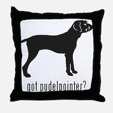 Pundelpointer Throw Pillow