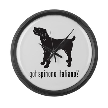 Spinone Italiano Large Wall Clock