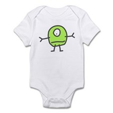 Cute Martian Infant Bodysuit