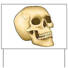 Skull - Yard Sign